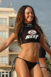 Spanish girls showing it all off to be crowned Miss Reef